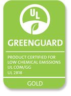 Advance Guard® UL GREENGUARD GOLD Certification
